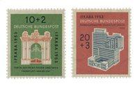 Tyskland 1953 - Michel 171-172 / AFA 1134-1135 - Postfrisk