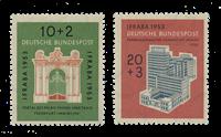 Republique Fédéraled'Allemagne 1953 - Michel 171-172 - Neuf