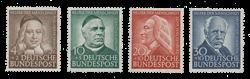 Tyskland 1953 - Michel 173-176 - Postfrisk