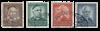 Tyskland 1953 - Michel 173-176 - Stemplet