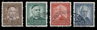 Republique Fédéraled'Allemagne 1953 - Michel 173-176 - Oblitéré