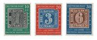 Tyskland 1949 - Michel 113-115 / AFA 1076-1078 - Postfrisk