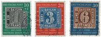 Tyskland 1949 - Michel 113-115 / AFA 1076-1078 - Stemplet