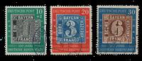 Republique Fédéraled'Allemagne 1949 - Michel 113-115 - Oblitéré