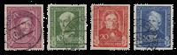 Republique Fédéraled'Allemagne 1949 - Michel 117-120 - Oblitéré