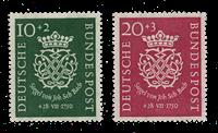 Republique Fédéraled'Allemagne 1950 - Michel 121-122 - Neuf