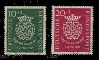 Republique Fédéraled'Allemagne 1950 - Michel 121-122 - Oblitéré