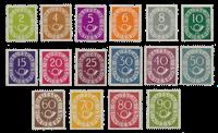 Republique Fédéraled'Allemagne 1951 - Michel 123-138 - Neuf avec charnières