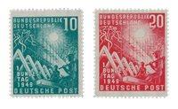 Tyskland 1949 - Michel 111-112 / AFA 1074-1075 - Postfrisk