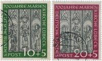 Republique Fédéraled'Allemagne 1951 - Michel 139-140 - Oblitéré