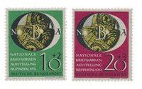 Tyskland 1951 - Michel 141-142 / AFA 1104-1105 - Postfrisk