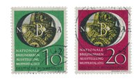 Tyskland 1951 - Michel 141-142 / AFA 1104-1105 - Stemplet