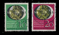 Republique Fédéraled'Allemagne 1951 - Michel 141-142 - Oblitéré