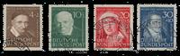Republique Fédéraled'Allemagne 1951 - Michel 143-146 - Oblitéré