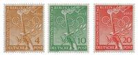 Berlin 1952 - Michel 88-90 - Mint