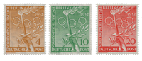 Berlin 1952 - Michel 88-90 - Mint