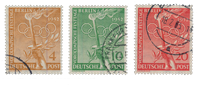 Berlin 1952 - Michel 88-90 - Cancelled