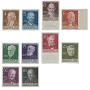 Berlin 1952 - Michel 91-100 - Mint