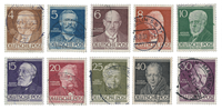 Berlin 1952 - Michel 91-100 - Cancelled