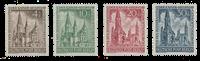 Berliini 1953 - Michel 106-109 - Postituore