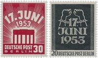 Berlin 1953 - MICHEL 110-111 - Mint
