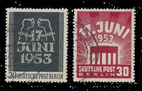 Berlin 1953 - Michel 110-111 - Gebruikt