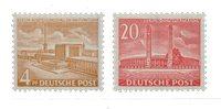 Berlin 1953 - Michel 112-113 - Postfrisk