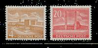 Berliini 1953 - Michel 112-113 - Postituore