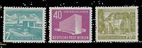 Berliini 1954 - Michel 121-123 - Postituore