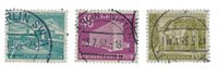 Berlin 1954 - MICHEL 121-123 - Cancelled
