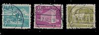 Berlin 1954 - Michel 121-123 - Stemplet