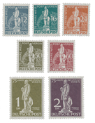 Berlin 1949 - Michel 35-41 - Mint