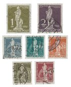Berlin 1949 - MICHEL 35-41 - Cancelled