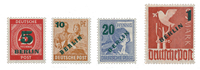 Berlin 1949 - Michel 64-67 - Mint