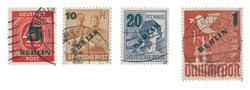 Berlin 1949 - MICHEL 64-67 - Cancelled