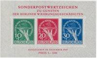 Berlin 1949 - Michel Blok1 - Postfrisk