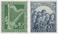 Berlin 1950 - Michel 72-73 - Postfrisk