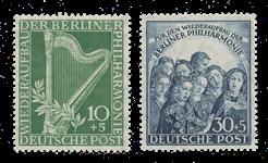 Berlin 1950 - Michel 72-73 - Mint