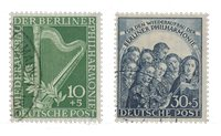 Berlin 1950 - MICHEL 72-73 - Cancelled