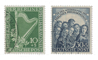 Berlin 1950 - Michel 72-73 - Cancelled