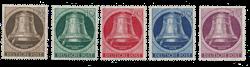Berlin 1951 - Michel 75-79 - Postfrisk