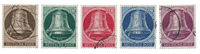 Berlin 1951 - Michel 75-79 - Cancelled