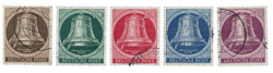 Berlin 1951 - Michel 75-79 - Stemplet