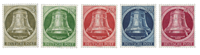 Berlin 1951 - Michel 82-86 - Mint