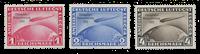 Tyske Rige 1933 - Michel 496-498 / AFA 491-493 - Ubrugt
