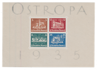 Empire Allemand 1935 - Michel Block3 - Neuf avec charnières