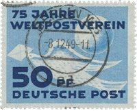 République Démocratique Allemande 1949 - Michel 242 - Oblitéré