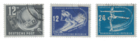 DDR 1949/1950 - Michel 245-247 - Stemplet
