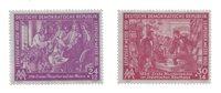 République Démocratique Allemande 1950 - Michel 248-249 - Neuf