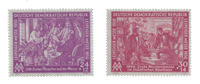 Duitsland DDR 1950 - Michel 248-249 - Postfris